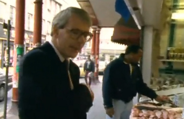 Take a video tour of 1992 Brixton with John Major