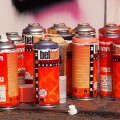 Top graffiti artists show off their work at the Urban Art Fair, Brixton