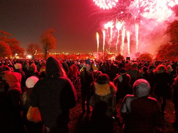 No Brockwell Park firework display this year