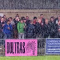 Dulwich Hamlet cruise past Carshalton Athletic 3-1 in a south London monsoon, 24th August 2013