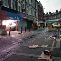 Brixton at 6.45 am - Electric Avenue wakes up while Brixton Village still slumbers