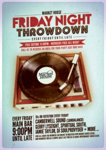 Friday Throwdown with Mark Robertson  @ Market House | United Kingdom