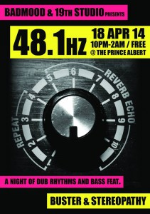 48.1 hz @ The Prince Albert | London | United Kingdom