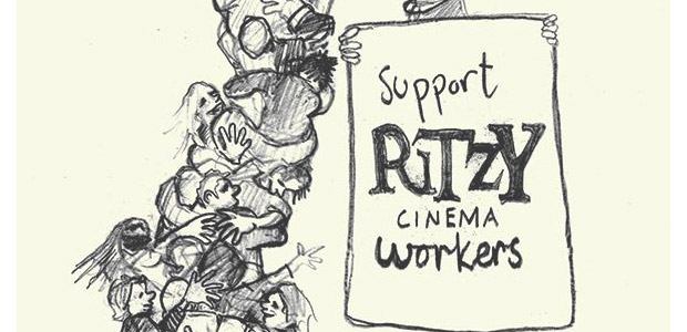 Brixton Ritzy staff workers for a decent pay deal