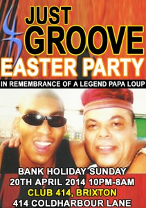 Just Groove Easter Bank Holiday Special @ Club 414 | United Kingdom