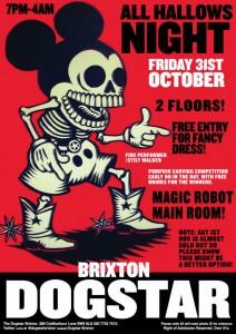 All Hallows Eve Dogstar Halloween Party @ Dogstar | London | United Kingdom