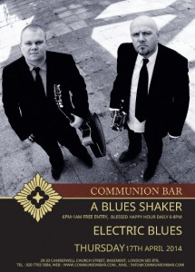A Blues Shaker - Electric Blues @ Communion Bar | London | United Kingdom
