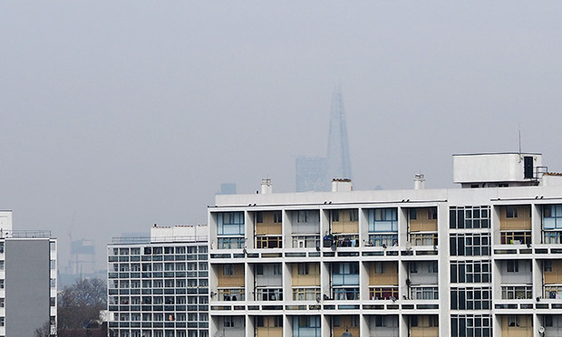 High levels of air pollution levels recorded in Brixton as dust storms affect southern England