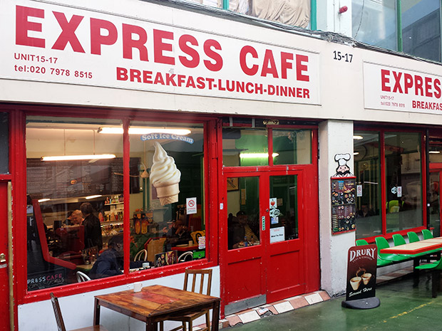 Express Cafe, Market Row - a no-nonsense, cheap and cheerful Brixton cafe
