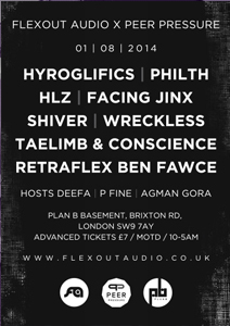Flexout Audio in the basement @ Plan B | London | United Kingdom
