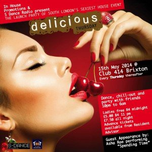 Delicious Thursday @ Club 414 | London | United Kingdom
