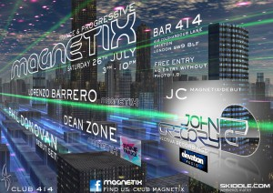 Magnetix Trance Party @ Club 414 | London | United Kingdom