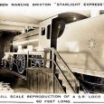 This postcard view showing a full scale reproduction of a Southern Railway steam locomotive inside Brixton's Bon Marche department store is something of a curiosity.
