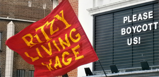 Striking Brixton Ritzy workers call for boycott of all Picturehouse cinemas