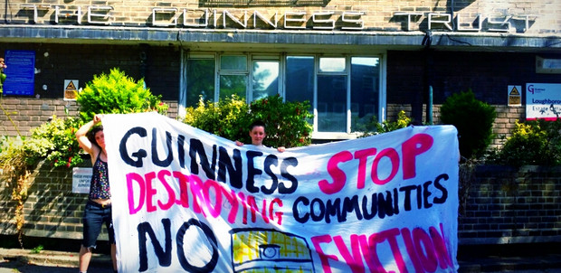 Guinness Trust residents on the Loughborough Park estate ask for a Twitterstorm