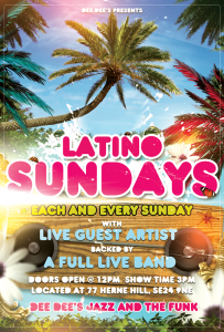 Latino Sundays at Dee Dee's (Every Sunday) @ Dee Dee's Jazz and the Funk | London | United Kingdom