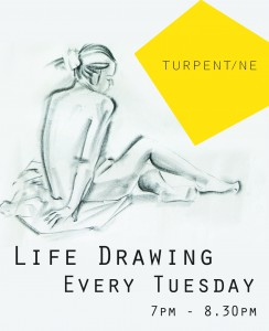Life Drawing @ Turpentine | London | United Kingdom