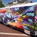 The Urban Art graffiti train is up for sale on eBay