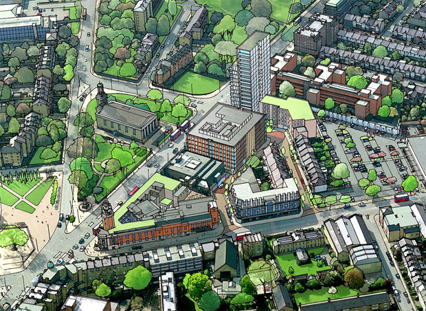 Lambeth New Town Hall redevelopment and the fast-shrinking affordable housing provision