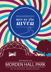 Beer by the River 2014  @ Morden Hall National Trust Park  | Morden | England | United Kingdom
