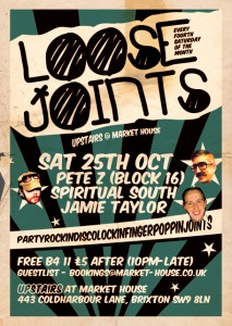 Loose Joints (upstairs) @ Market House | United Kingdom