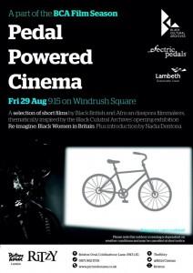 Pedal Powered Cinema: BCA Film Season @ Windrush Square | London | United Kingdom