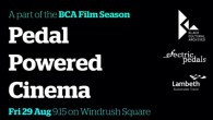 Pedal Powered Cinema returns to Brixton's Windrush Square on Friday evening (29th August) as part of the ongoing BCA Film Season.