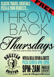 Throwback Thursdays @ Dogstar | London | United Kingdom
