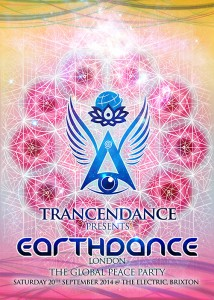 Earthdance London - The Global Peace Party.  Feat: GMS, 1200 Mics  Psy Trance/ Goa Trance/ Chill/ Downtempo @ The Electric, Brixton.