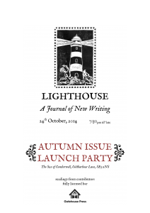Lighthouse Literary Journal Autumn Issue Launch Party @ The Sun of Camberwell | London | United Kingdom