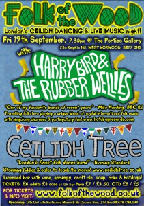 Folk Of The Wood's Ceilidh Dancing & Live Music Night with Harry Bird & Ceilidh Tree  @ The Portico Gallery | London | United Kingdom