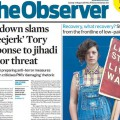 Brixton Ritzy pay dispute makes the front cover of the Observer newspaper
