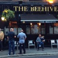 The last night of the Beehive pub in Crossford Street, Stockwell in photos