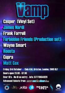 VAMP  @ CLUB 414 | London | United Kingdom