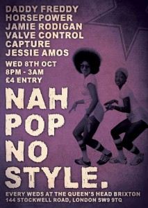 Nah Pop No Style  @ The Queens Head   London   United Kingdom
