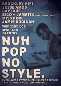 Nuh Pop No Style @ The Queens Head - Brixton | London | United Kingdom