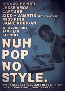 Nuh Pop No Style @ The Queens Head - Brixton   London   United Kingdom