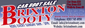 Brixton Booty Car Boot Sale @ Brixton Sports and Social Club | London | United Kingdom