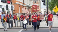 Following the management's decision to announce large scale redundancies just six weeks after an agreement was reached to settle the long running pay dispute, union members at the Brixton Ritzy cinema […]