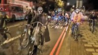 Seeing as it's Halloween we thought we'd dig up this old monster from 2012 when local bicycle shop Cycooldelic Revolution hosted a 'Ride Of The Living Dead' through Brixton.