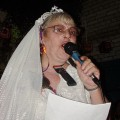 Halloween past in Brixton - a spooky poetry night in the Prince Albert, 2005