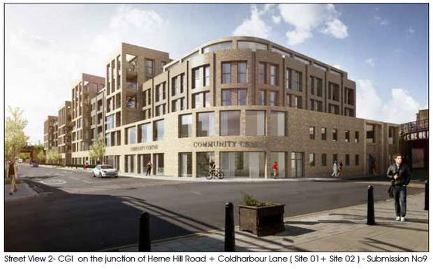 Loughborough Junction Higgs Triangle redevelopment - more images