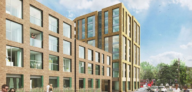 "With a ghastly, featureless design described as looking like a ""giant upturned packing crate,"" the enormous development at the Albemarle site at Stockwell Park in Brixton is getting ready to welcome well heeled […]"