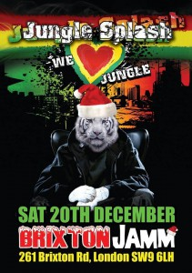 Jungle Splash @ Brixton Jamm | London | United Kingdom