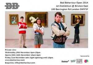 Bad Behaviour Open 2014 @ Brixton East | London | United Kingdom