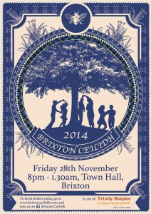 Brixton Ceilidh @ Assembly Hall, Brixton Town Hall (entrance off Acre Lane) | London | United Kingdom
