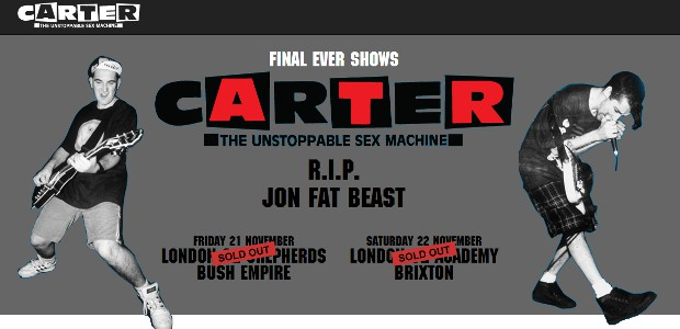 An emotional weekend lies ahead for Carter fans as Jim Bob and Fruitbat play their final ever gigs – tonight (Friday 21st) at Shepherd's Bush and tomorrow (Saturday 22nd) at […]