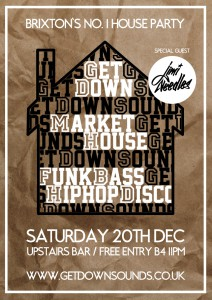 Get Down with Special Guest DJ Jimi Needles @ Market House | London | United Kingdom