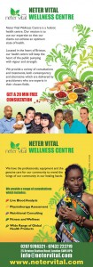 Healthy Eating and Lifestyle @ Neter Vital Wellness Centre / All Eyes on Egipt | London | United Kingdom