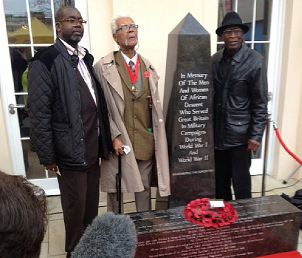 African and Caribbean War Memorial unveiled at the Black Cultural Archives in Brixton - photos